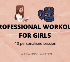 create workouts for women (10 session)
