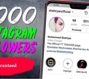 give you 2000 instagram followers --lifetime refill-fast