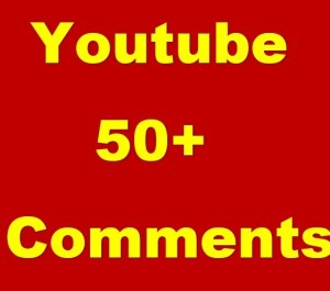 Give You 50 Real Custom YouTube Comments