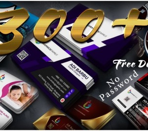 provide professional and trending 300 business card psd files