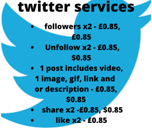 offer manual twitter services