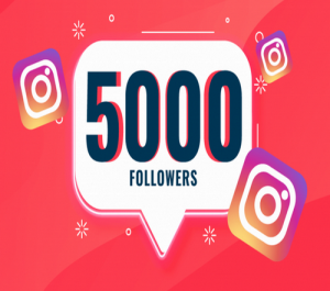 Promote your Instagram account and Guarantee 5k Real Followers