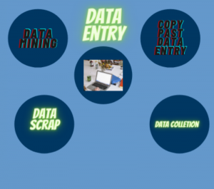 do data entry accourding to your niche
