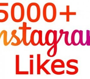Give You 5000+ Instagram Likes With Delivery In 1 Hour none drop