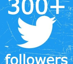 give 300+ TWITTER FOLLOWERS NON DROP
