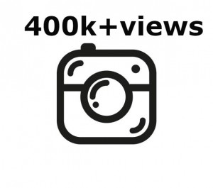 Add you Instant 400k+ Instagram views in 2 hours