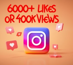 ADD you instant 6000+ likes or 400k+video views