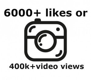 Add you 6000+ Instagram likes OR 400k views instant