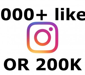 Add you 3000+ instagram likes OR 200K views Instant