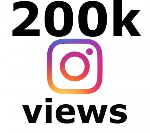 ADD you Instant 200k+ INSTAGRAM Views in 1 HOURS