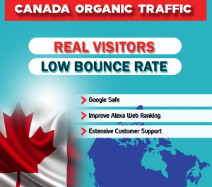 send 60,000 Canada GEO Targeted Traffic Visitors to your Website
