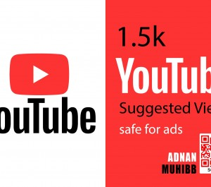 give 1.5K YouTube Suggested Views