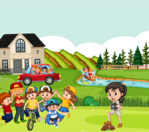draw illustrations children's book for you
