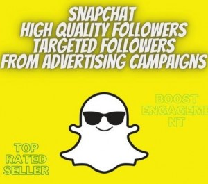 """Snapchat HQ real targeted followers """"friends """" non drop 100% reals"""