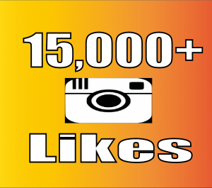Give Instant 15,000+ Instagram Likes Real Non Drop