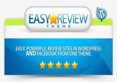 show you how you can create  wordpress and facebook review sites from the same theme and Same Content