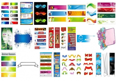 create 3 design banners for alternative any size