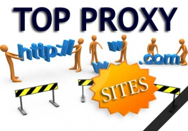 give you guaranteed fast google passed Proxy List