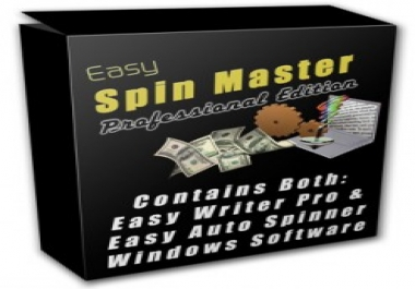 help You Save Money in Content Spinning and Give You 2 Excellent Article Spinners With mrr Plus 10740 PLR Articles as Bonus