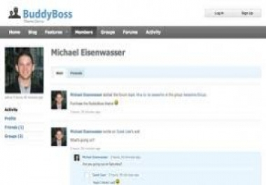 give you BuddyBoss Premium BuddyPress Theme