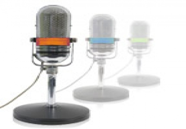 give you a  permanent mp3 voice Recorder for any of your choice and with your voice  in my studio
