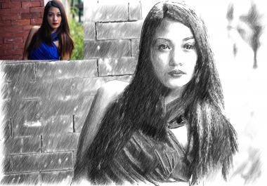 create a SKETCH version of your photo
