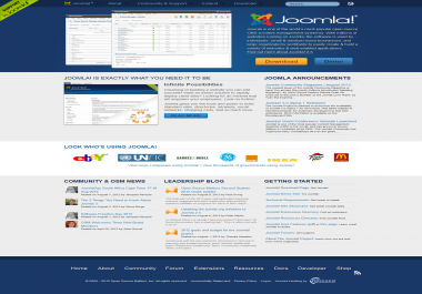 install joomla templates in yours server