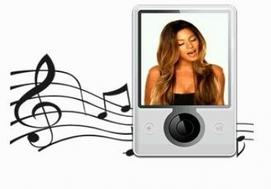 convert for you your video/movie file into a usable MP4 music file