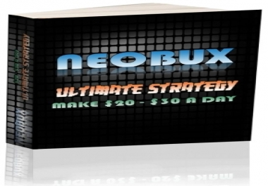 give you a copy of Neobux Ultimate Strategy