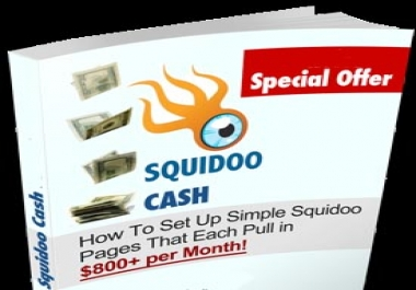 give you an AMAZING guide by which you'll earn easy and daily cash from Squidoo