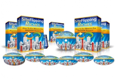 send video course about make fast money from site flipping only from NEW SITE