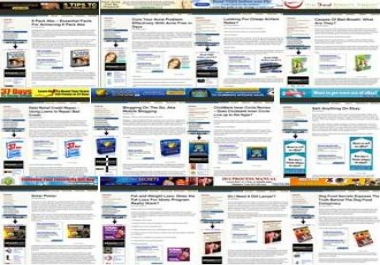 sell 12 High Gravity Clickbank ,Adsense,Amazon Sites and Websites filled with ARTICLES related to the niche