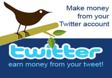 Tweet your 5 ads, promotional links, or anything to my +39k twitter followers