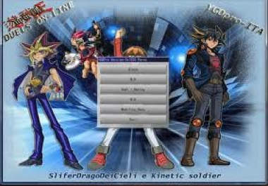 give you a yugioh pc online game exe file