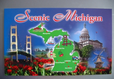 send a postcard from BEAUTIFUL Michigan