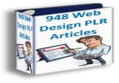 give you web design PLR pack