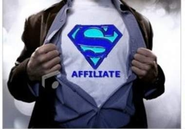 send you an AMAZING ebook on How to be super affiliate within 24 hours