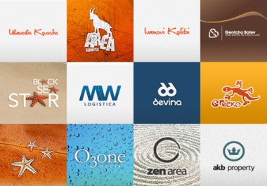 create two awesome LOGOS for your company