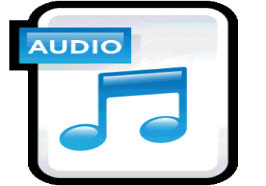transcribe 25 minutes of clear audio book and podcasts