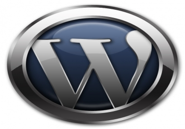 create wordpress website with plugins and your chosen theme
