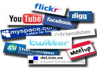 manually submit your website to 20+ social bookmarking website with proof