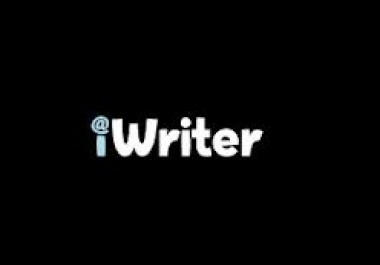 show you how to make about $30 in 2 or 3 hrs in iwriter