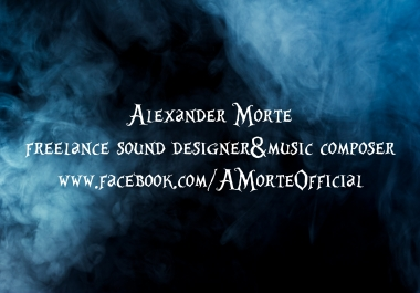 make you a quality SOUNDTRACK for your Video, Presentation, Commercial, Tv Spot, Pc Game, Web Site, Business, App, Short Film, Music Band
