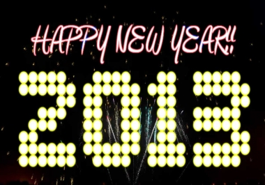 send you a one minute New Year's Eve countdown video