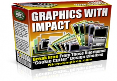 give you an amazing graphics with impact package with bonuses, plus one of my other gigs as an extra bonus