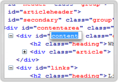 help you with html