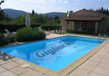 keep your LOGO on a swimming pool