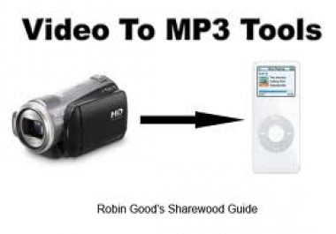 convert up to 10 you tube video files into mp3 music tracks