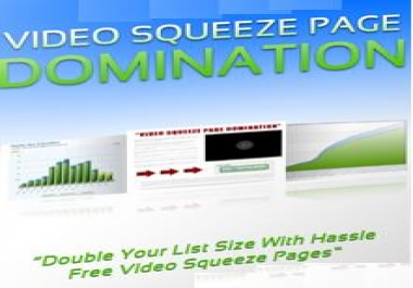 Show You How to Create Video Squeeze Page Domination