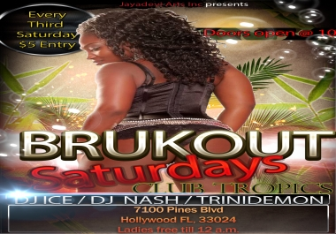 design an eye catching flyer for any event
